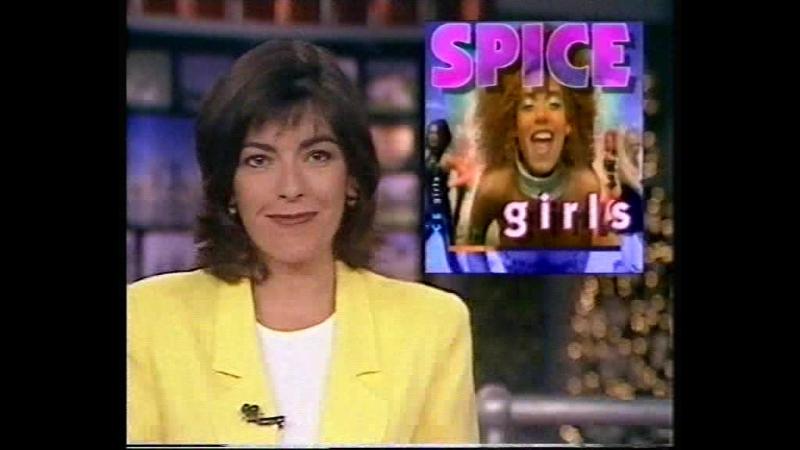 Spice Girls - Spiceworld Premiere - London - Nine News 15.12.1997