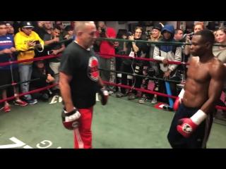 Открытая тренировка Гильермо Ригондо / Guillermo Rigondeaux work out