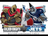 NHL 17-18. SC FINAL WEST G4. 18.05.18. WPG - VGK. Евроспорт.