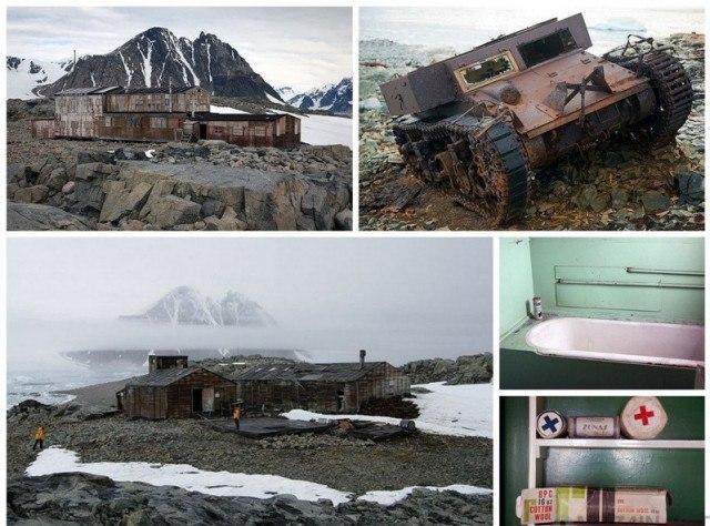 HaaBYBzsMGI - Заброшенные дома в Антарктиде: наследие полярников