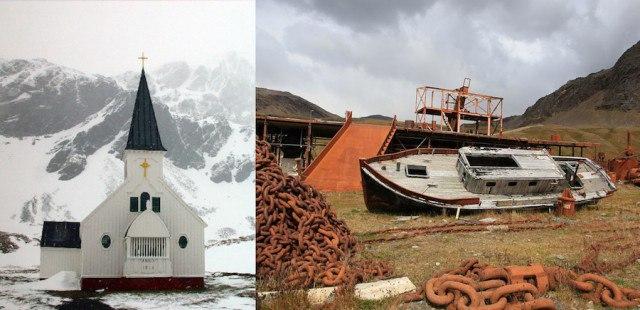 Lsf7dMv46C0 - Заброшенные дома в Антарктиде: наследие полярников