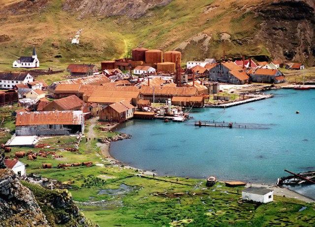 UNrAbz z70s - Заброшенные дома в Антарктиде: наследие полярников