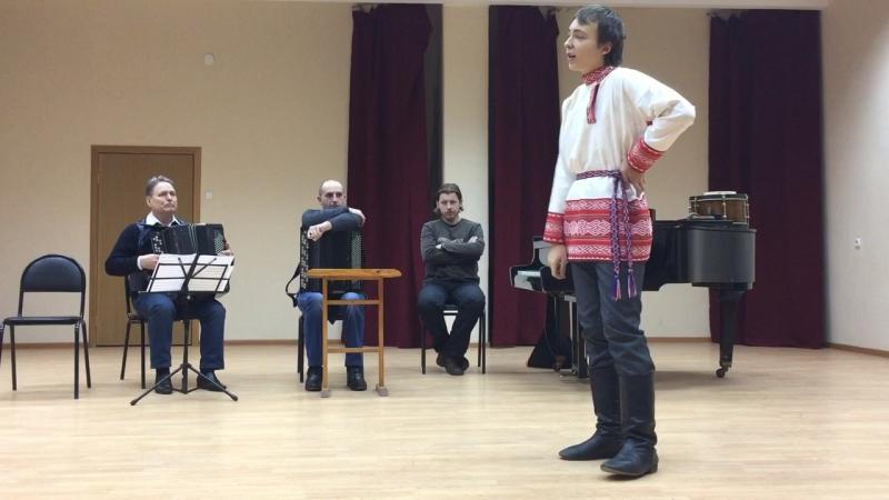 Андрей Борисов-Как за речкой,за Кубанкой (казачья песня)