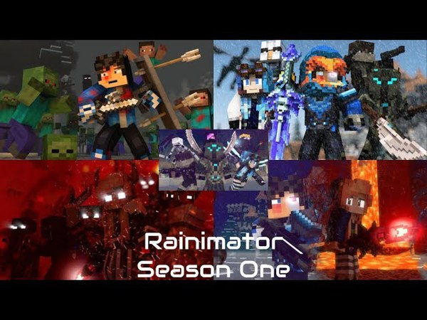 Rainimator FULL SERIES With Goodbye! Finale by Blacklite District Seamless Edit | PART 1-5 |