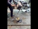 удаление шпакли болгаркой,по окончанию работы выложу видео готовой работы