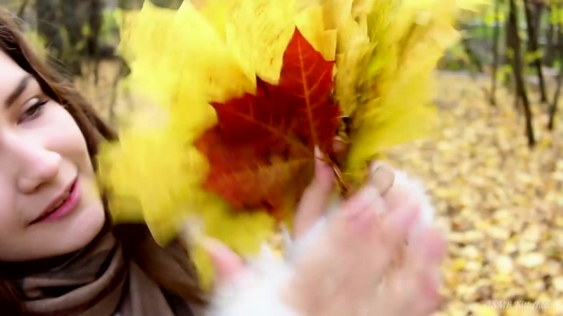 [ASMR KittyKlaw] АСМР 🍁 Осень, листья, шепот, триггер 🍂 | ASMR Autumn 🍁🍂, leaves, whisper, trigger 🍃