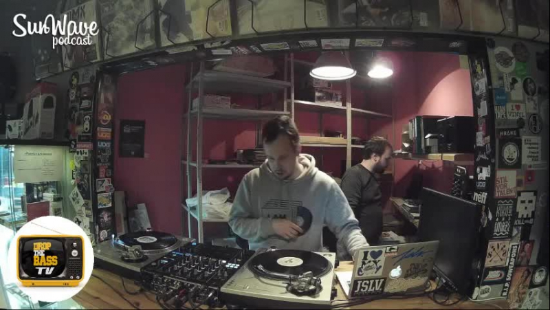 Alex Yurov And DJ Lift And DJ Levchonok - Sun Wave Live Stream@Baza Record Shop 21.12.17