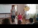 Выступление Лерочки и Лены, на открытие 2 лагерной смены
