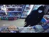 Нападение на магазин в Бишкеке попало на видео
