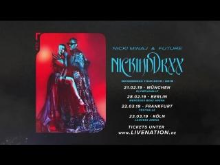 Nicki Minaj Future - NICKIHNDRXX Tour 2019 - VizitTravel