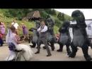 Groom Leads Group of Twerking Dinosaurs in Wedding Dance - 994940
