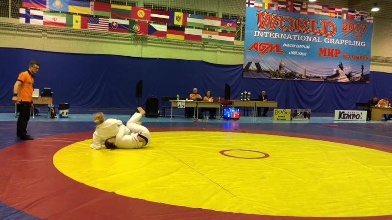 Лиана Джоджуа World National Grappling Gi final