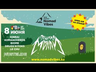 Nomad Vibes 2018 summer: Пошлая Молли, Mustelide и др.