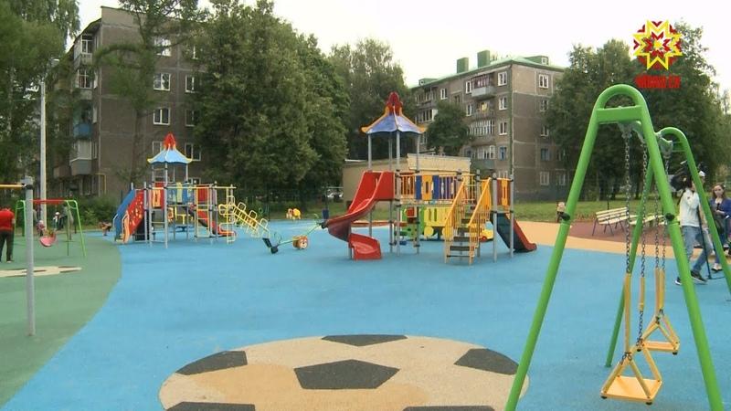Комфортная городская среда в прошлом году пришла в 25 чебоксарских дворов.