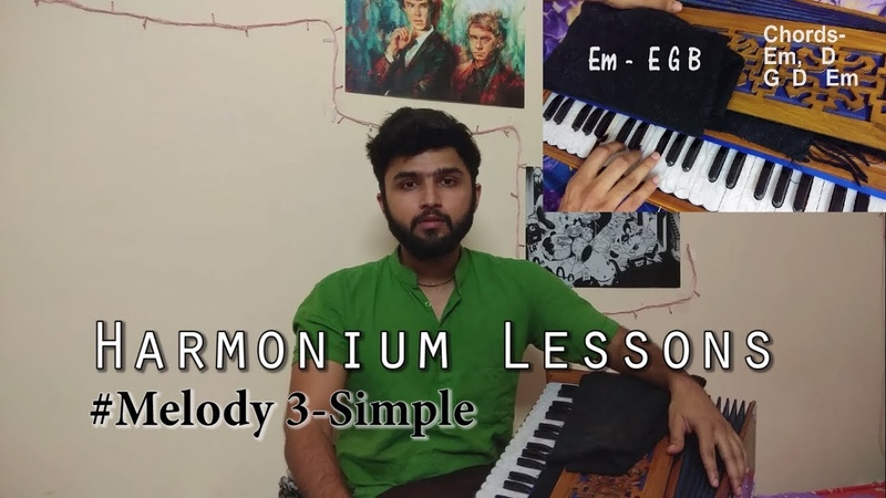 Hare Krishna Harmonium Tutorials - Melody 3 (Madhava Prabhu)