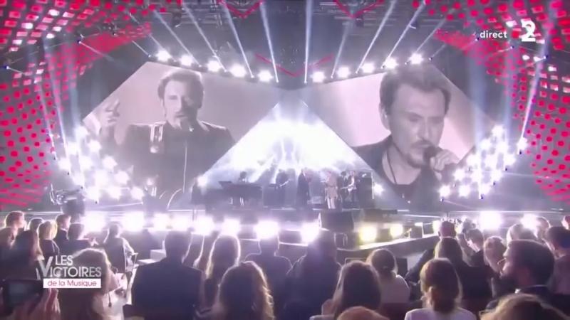 33èmes Victoires de la musique (09.02.2018) - Hommage à Johnny Hallyday
