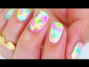Рисуем узоры на ногтях