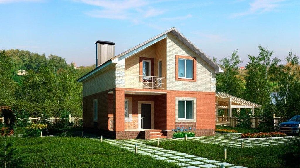 Эскиз проекта загородного дома