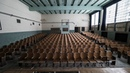 Exploring An Intact Middle School In Detroit TONS LEFT BEHIND