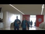 Бавария — Реал Мадрид | Прибытие в Мюнхен и тренировка
