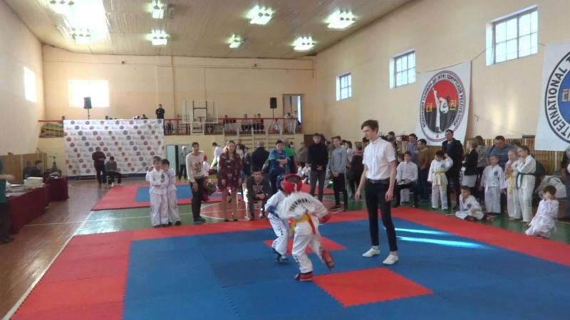 Соревнование по ТХЭКВОНДО ИТФ от 25.02.2018г.