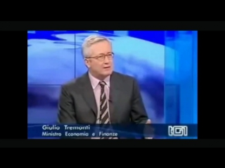Mentre un plastificato Berlusconi invoca meno Stato mi viene in mente quando Tremonti raccontava al TG1 la verità e la ricetta u