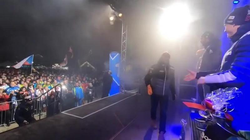 Видео от Михала Крчмаржа (13.01.2018)