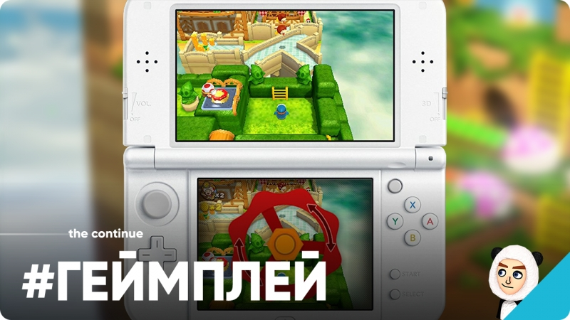 Геймплей демо Captain Toad: Treasure Tracker на Nintendo 3DS