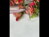 Чокер 💎кристалл сверкает супер🤩🌸в пудровом цвете