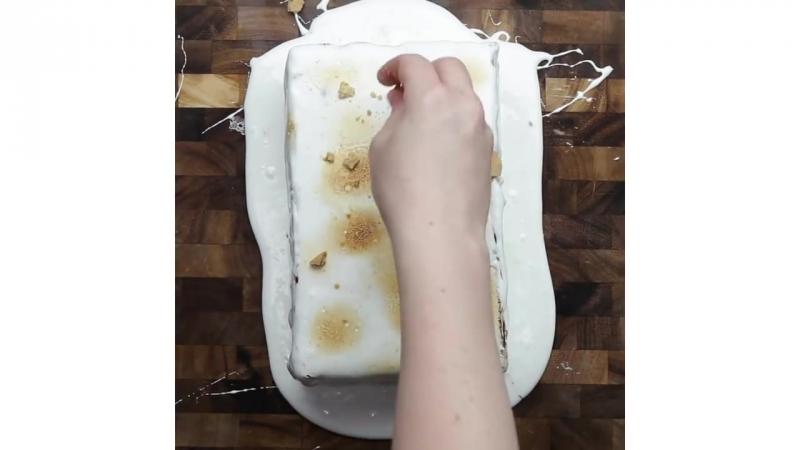 16-Layer No-Bake Smores Cake