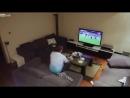 Дружина приховано виключає вболівальнику ТВ під час матчу