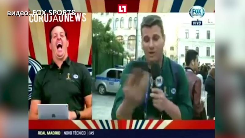 «Вы корреспондент какой страны!» журналист попытался взять интервью