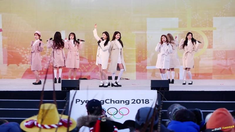 180123 | Lovelyz - Ah-choo | 2018 PyeongChang Winter Olympics Torch Relay Celebration Event
