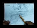 Как нарисовать отражение в воде Художник_ Алексей Епишин. Рисунок карандашом