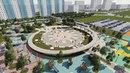 Эскизный проект парка Микрорайон 8А город Нижневартовск
