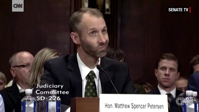 Trump judicial nominee struggles to answer basic legal questions at hearing