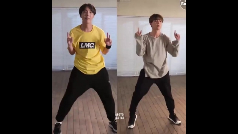 Oh my god i really love watching hoseok and jimin dancing together