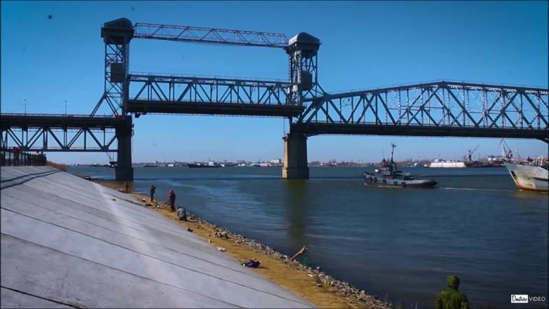 AST-NEWS.ru: Развод Старого моста в Астрахани-2017
