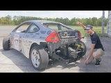 Subaru SVX Swapped Honda Insight Review! - The Scariest Honda Insight Ever