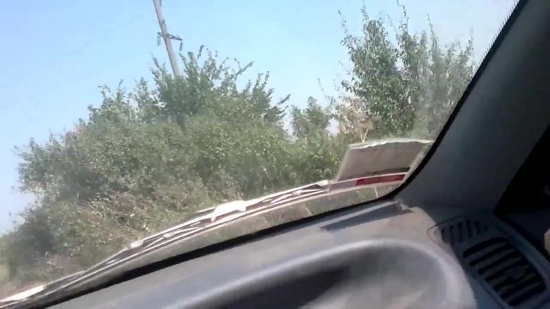 2014 08 13 ЭТО за 9 дней блокады Дмитриевки участка дороги возле села