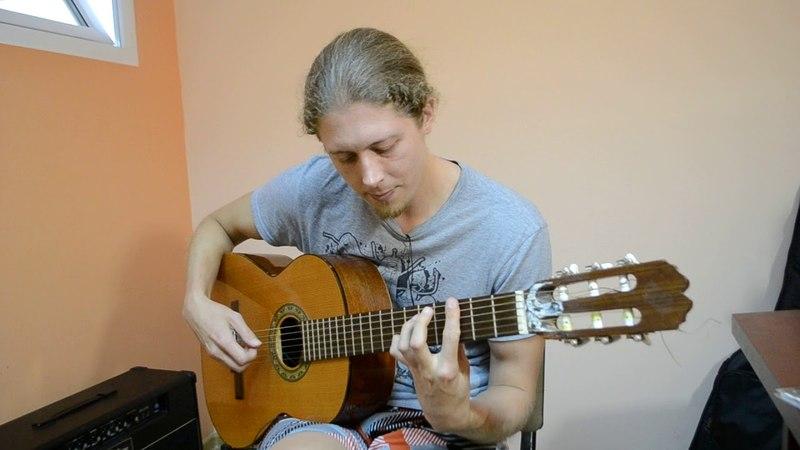 Пираты карибского моря - кавер на гитаре