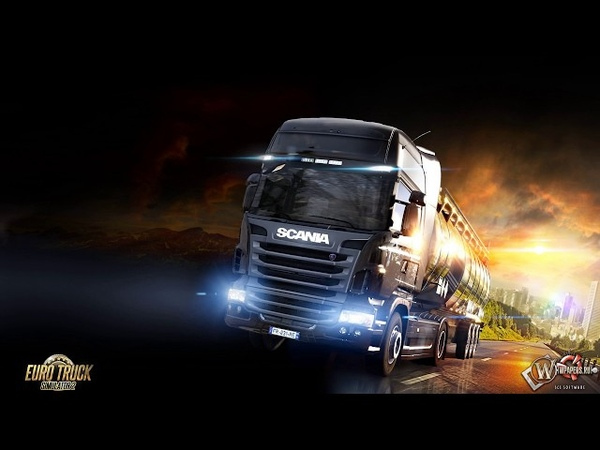 Euro Truck Simulator 2. Дорога дураков ч. 5