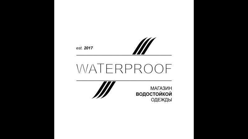 Темно-синяя водонепроницаемая куртка ASOS в онлайн-магазине WATERPROOF SHOP