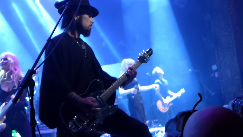 Above Ground event by Dave Navarro and Billy Morrison live at the Belasco 16Apr18
