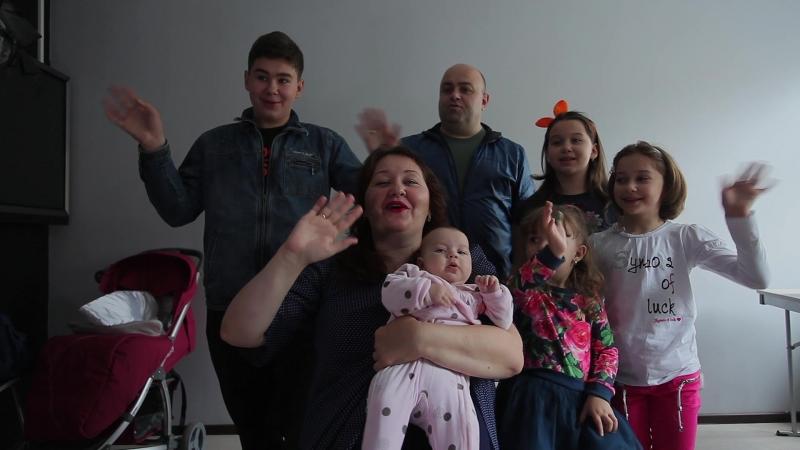 Юлия Шелопугина, Рубен и вся семья_ поддержите_проект_пись_потомкам