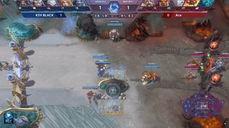 Fastest Extended Lightening Quest at HGC 2018