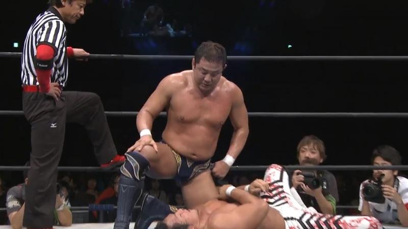 Hiroshi Tanahashi(с) vs. Yuji Nagata Match for the IWGP Heavyweight Title (New Japan Alive)