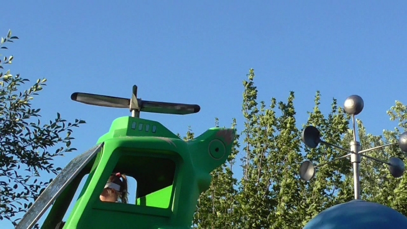 Милана на вертолёте видео 1