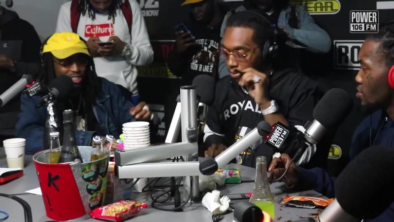 Migos Talks Bad Boujee, Freestyle, Hotbox The Studio