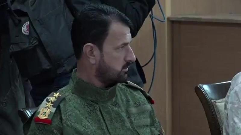Владимир Путин и генерал Сухейль аль-Хасан